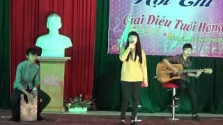Ba kể con nghe , lời con hứa  Pháp K25 Chuyên Thái Nguyên ( cover by lee khánh )