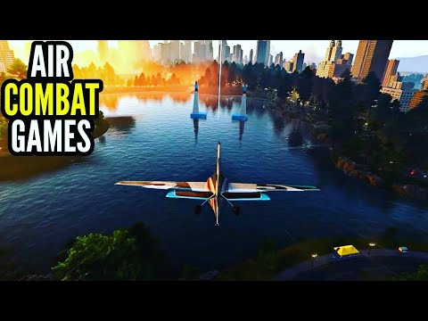 Top 10 Best Air Combat Fighter Games For Android & Ios High Graphics [Droid Nation]