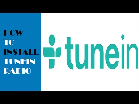 how to install tunein radio addon in kodi youtube. Black Bedroom Furniture Sets. Home Design Ideas