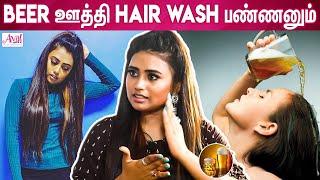 Farina's Long Hair & Glowing Skin Secret | Venba, Barathi Kannamma, Vijay TV | Kannamma, Hair Care