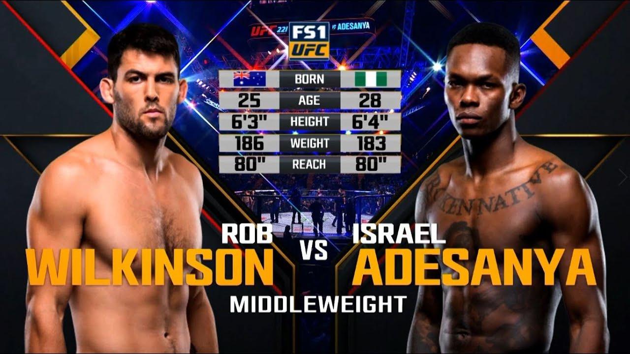 Download UFC Debut: Israel Adesanya vs Rob Wilkinson | Free Fight