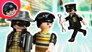 KARLCHEN KNACK #86 - Johnys und DBs Flucht! - Playmobil Polizei Film