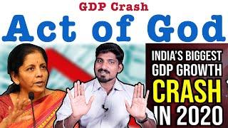 Biggest GDP Crash | ஜிடிபி எப்போது சரியாகும் | கடவுளும் காரணங்களும் | Tamil Pokkisham | Vicky | TP