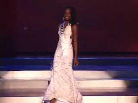 Jamaica - Miss Universe 2008 Presentation - Evenin...