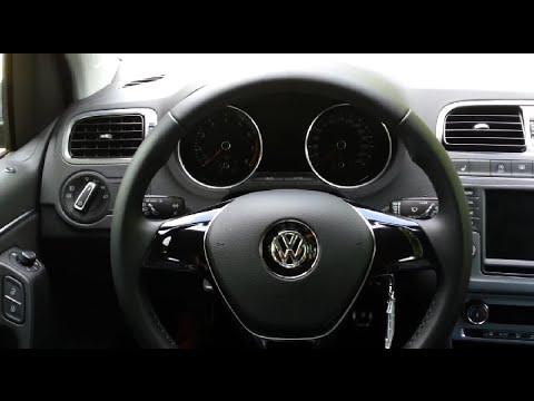 vw polo v 6c1 1 0 allstar 2016 75ps interior 16 9 touchscreen mp3 youtube. Black Bedroom Furniture Sets. Home Design Ideas