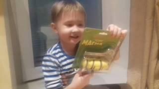 ГУСЕНИЦА новая игрушка магнит ползает по стенам