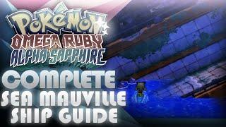 Pokemon ORAS: Complete Sea Mauville Guide + Beedrillite! - Mootypwns