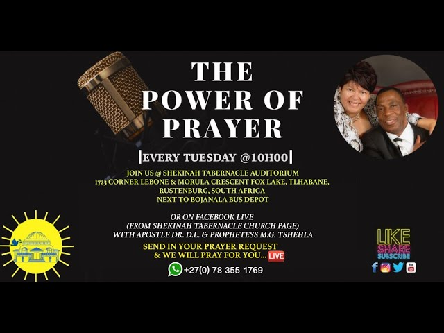Power Of Prayer Service | I Need God's Joy ! | 16 February 2021