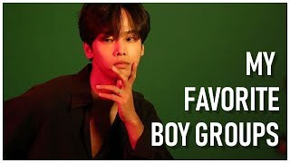 [My Top 30] Favorite K-Pop Boy Groups