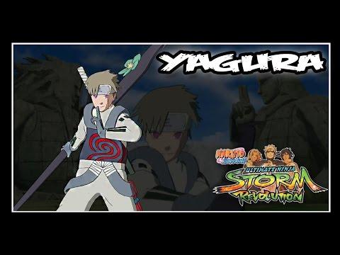 Naruto Shippuden: Ninja Storm Revolution - Jinchuuriki DLC Pack - YAGURA // Moveset
