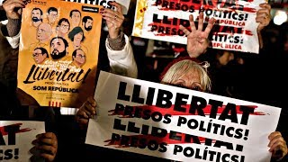 Тысячи каталонцев протестуют против заключения активистов (новости)