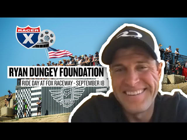Ryan Dungey Previews Opportunity Awaits Ride Day, Mission of New Foundation