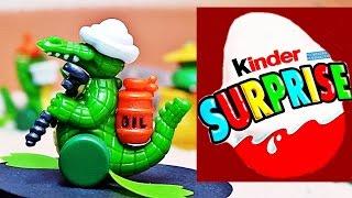 KROKODILE kinder SURPRISE egg nice Üei OLDIES EGGS TYP 1997 Üeier new cool unBOXing Überraschung :)