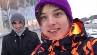 Школьники встретили Ивангая на улице