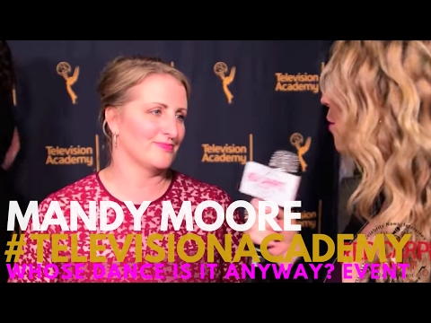 Mandy Moore #LaLaLand interviewed at the Television Academy's Choreographer Celebration