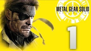 METAL GEAR SOLID: Peace Walker (Sin Comentar) | PARTE 1 | LET