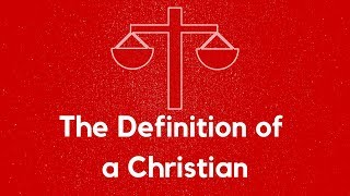 "January 6, 2019 ""The Definition of a Christian"" Dr. Tim Prock"