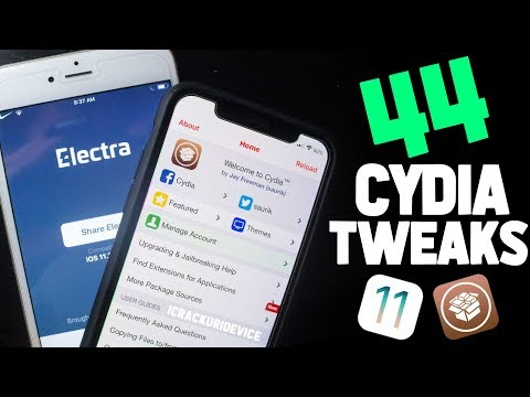 Top 44 BEST Cydia Tweaks on iOS 11.3.1 Jailbreak Electra! (Tweaks, Sources, Themes)