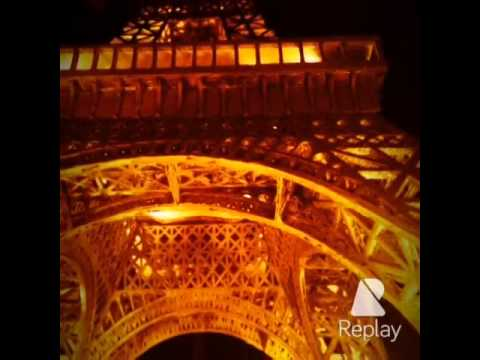 에펠탑 모형제작 / Handmade Miniature of Eiffel Tower