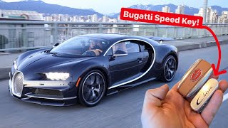 TESTING MY BUGATTI SPEED KEY! What does it do?