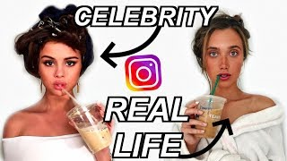 Recreating Celebrities Instagram Pictures! | Hannah Meloche