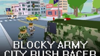 Blocky Army City Rush Racer Android GamePlay Trailer