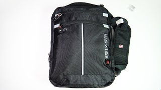 Мужская сумка SwissWin с лямкой через плечо(, 2016-07-29T15:00:02.000Z)