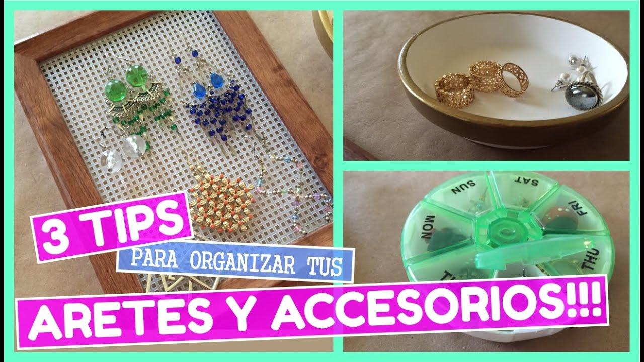 410be0a18c6c 3 tips para organizar tus aretes y accesorios de una forma súper sencilla!!!