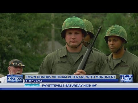 Vietnam veterans honored in Spring Lake