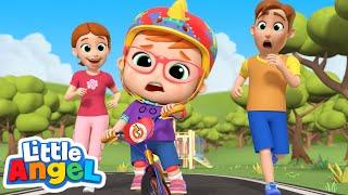 You Can Ride a Bike | Little Angel Kids Songs & Nursery Rhymes