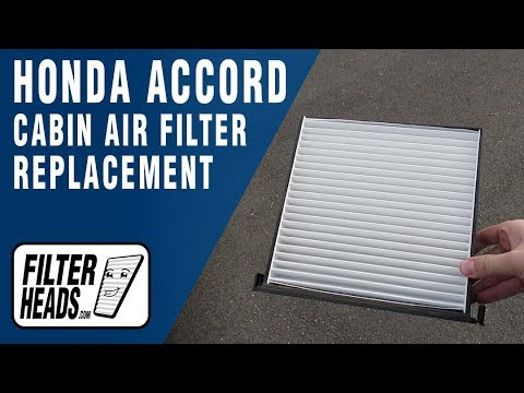 How to Replace Cabin Air Filter 2004 Honda Accord