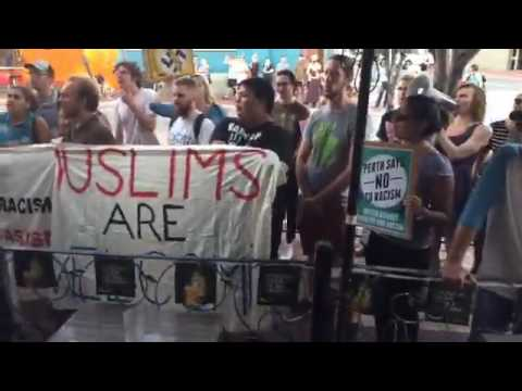 FULL Protest Footage of Pauline Hanson's One Nation Perth Event