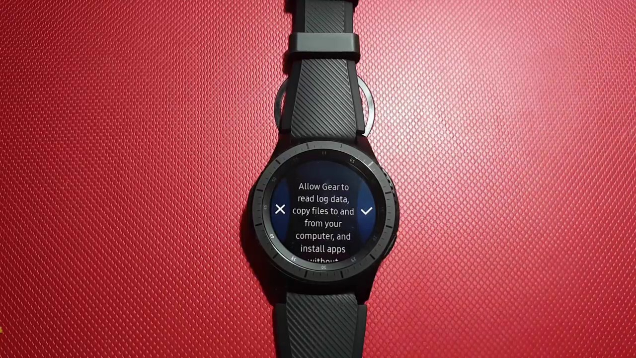 How to Enable or Disable Debugging on Samsung Gear S3