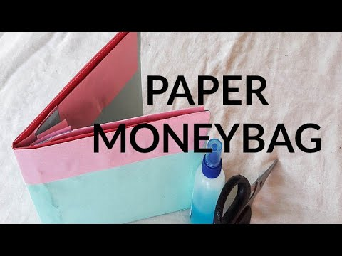 How to make a paper money bag easily ●Diy craft ideas●Art & Craft House