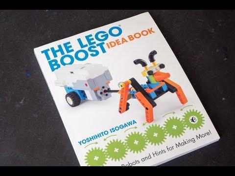 (book flip) The LEGO BOOST Idea Book