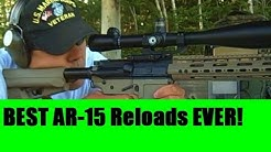 Reloading the Best Powder 223 5.56 AR15 or Mini-14 Rifle