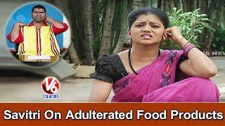 Bithiri Sathi Satirical Conversation With Bithiri Sathi Over Food Adulteration   Teenmaar News