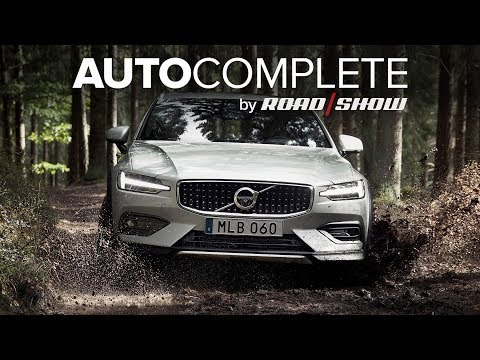 AutoComplete: Volvo V60 Cross Country is coming for 2020