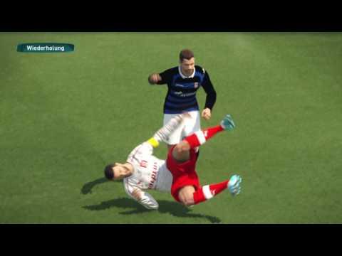 PES 2017 PS4 3  Liga FSV Frankfurt Vs Hallescher FC Friendly