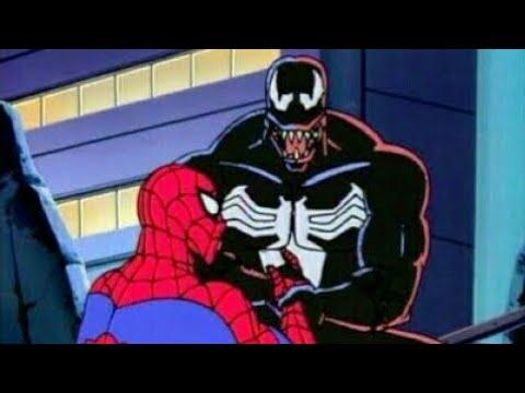 Человек паук против венома часть1 (1994мультесериал) - YouTube