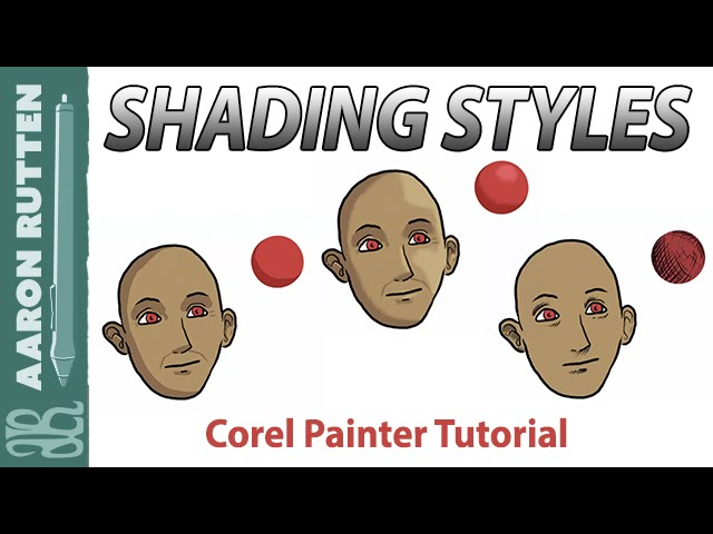 Shading Styles for Digital Artwork