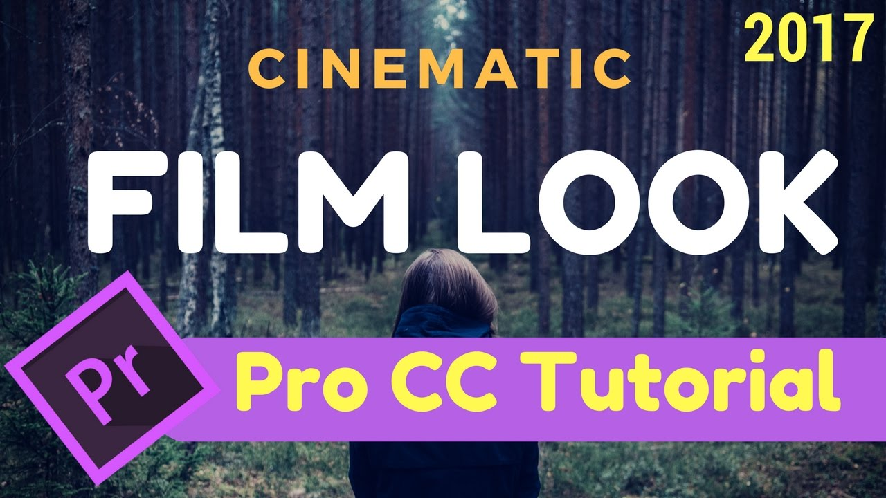 how to get film look in premiere pro