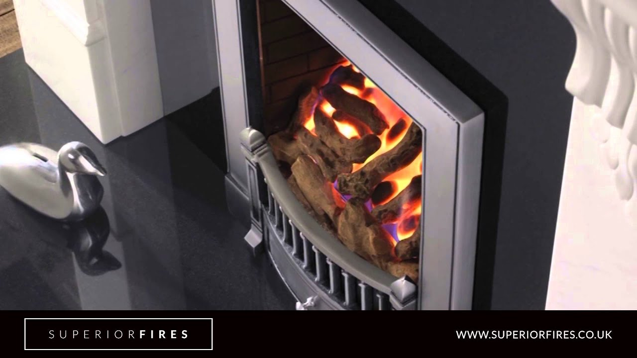 superior fires whatley full depth radiant inset gas fires youtube