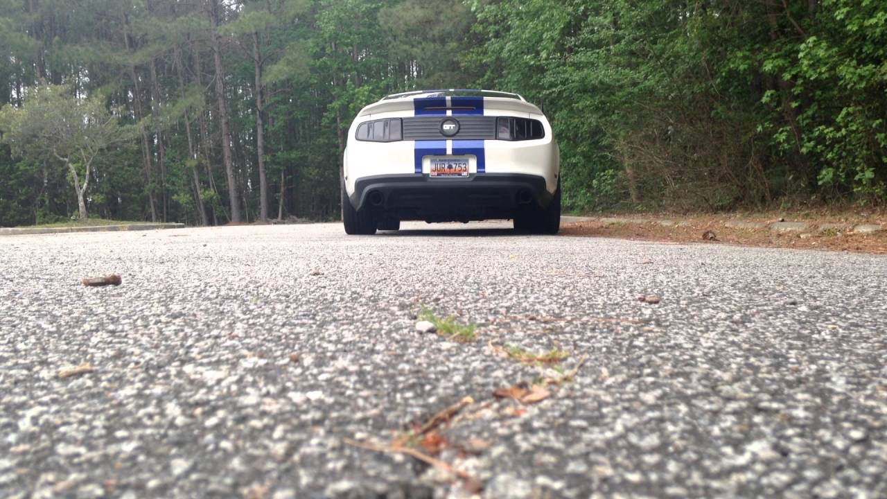 RTR exhaust with Pypes O/R X pipe and resonator deletes 2012 Mustang Gt
