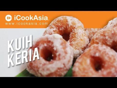 Resepi Kuih Keria Yang Mudah dan Sedap | iCookAsia - YouTube