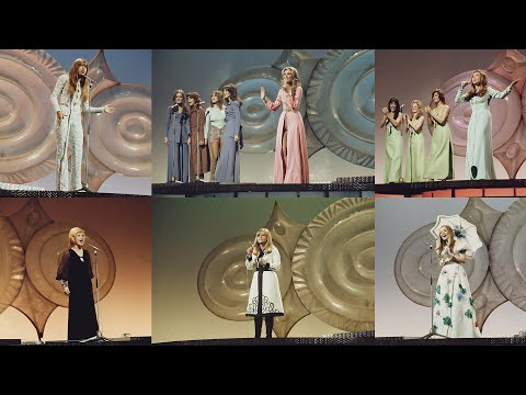 Eurovision 1971 || Rehearsals, behind the scenes, interviews