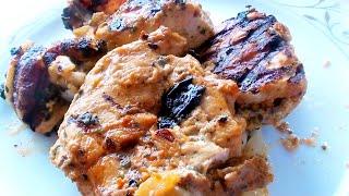 Шашлык из курицы на кефире видео рецепт приготовления