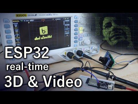Oscilloscope as a Display (ESP32, DAC, 3D, Camera) - YouTube
