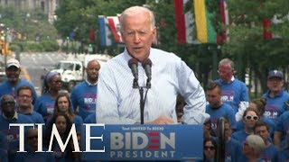 Joe Biden Calls For Unity At Presidential Campaign Rally In Pennsylvania | TIME