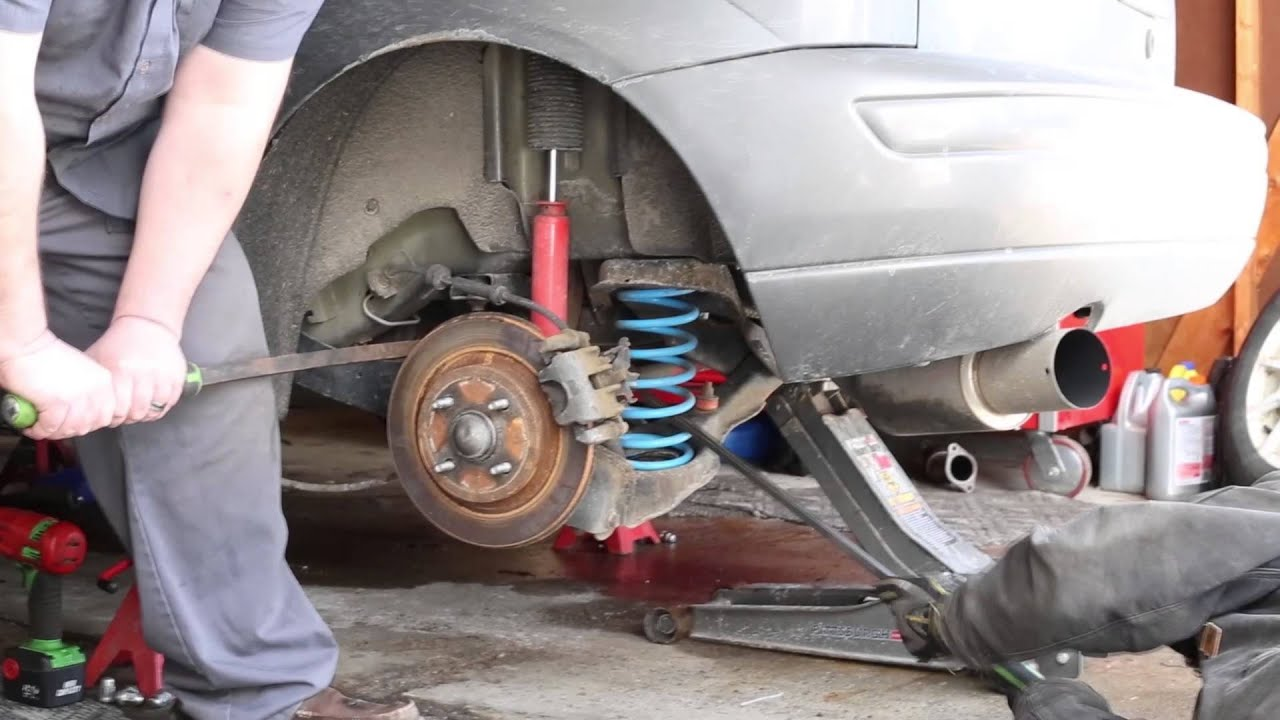 Ford Ka Front Suspension Diagram Chromalox Immersion Heater Wiring Focus Rear Spring Removal Youtube